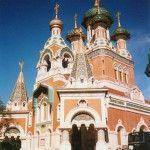 St. Nicholas Russian Orthodox Church in Nice