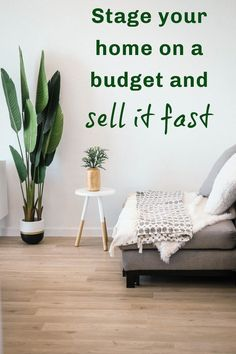 How to stage your home on a budget. Affordable home staging tips to help you get a speedy house sale. Sell your home fast with these house staging hacks Home Staging Tips, Sell Your House Fast, Family Budget, Moving House, Home Hacks, Home Look, Easy Projects, Home Renovation, Budgeting
