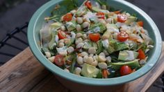 paleo macadamia salad + a blog post 'how not to put on weight over the holidays'.