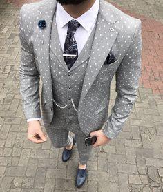 Latest Coat Pant Designs Man Suit Custom Made Slim Fit Blazer with Pants Groom Wedding Tuxedo Mens Suits Set Mens Fashion Wear, Best Mens Fashion, Suit Fashion, Male Fashion, Tuxedo Wedding Suit, Wedding Suits, Wedding Coat, Wedding Groom, Der Gentleman