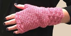crochet fingerless g