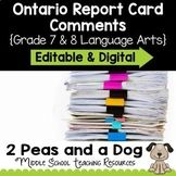 2peasandadog Teaching Resources | Teachers Pay Teachers Teacher Resources, Teacher Pay Teachers, Ontario Curriculum, Report Card Comments, Report Cards, Voice Levels, Action Verbs, Report Writing, Teacher Organization