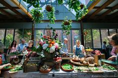 Amazing table spread at The Grounds of Alexandria, Sydney   Image: Vincent Lai   @vincy