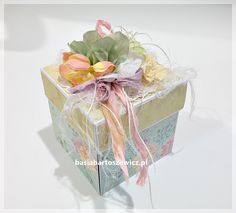 Mini album w boxie Exploding Boxes, Decorative Boxes, Home Decor, Decoration Home, Interior Design, Home Interior Design, Decorative Storage Boxes, Home Improvement