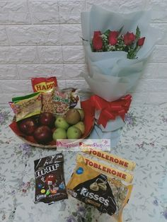 Successfully Delivered. #Rosebouquet #flowerbouquet #groceryshopphilippines #fruitbasket #fruitbasketphilippines #chocolate #chocolatebouquet #chocolatebasket #tobleronechocolate #philippineschocolate