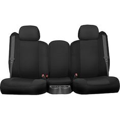 Dash-Designs-Seat-Cover-New-Black-Chevy-Chevrolet-Silverado-K301-57-0ZBC