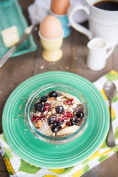 Chia Seed Cereal. Easy & delicious breakfast your kids will love. Soak chia seeds overnight for a fast, fuss free breakfast!
