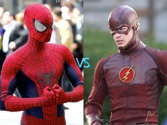 Spider-man vs the flash