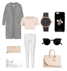 """""""Без названия #37"""" by ksuaksi on Polyvore featuring мода, French Connection, Windsor Smith, By Malene Birger, River Island, GUESS, Michael Kors, Kate Spade и Marc Jacobs"""
