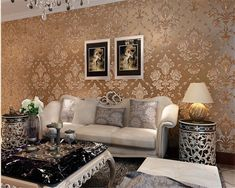 Beibehang Non Woven Wallpaper Living Room Warm Bedroom Wallpaper Full Of  Sofa TV Background Wall Paper Part 73