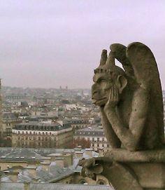 gargoyles notre dame of paris