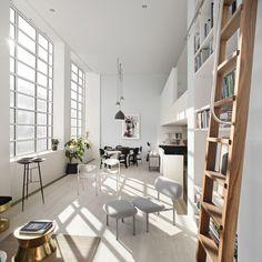Hervorragend Lichtdurchflutetes Wohnzimmer Mit Hoher Decke | Beleuchtungsideen |  Pinterest | Designers