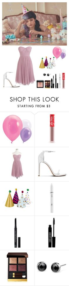 """melanie martinez - pity party inspired"" by torixyz ❤ liked on Polyvore featuring Lime Crime, J.Crew, Stuart Weitzman, NYX, Christian Dior, Lord & Berry, Tom Ford and Bobbi Brown Cosmetics"