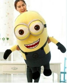 Fancytrader 39'' / 100cm Cute Giant Plush 3d Despicable Me Minion Toy, Gift For Child Baby Ft50028 From Fancytrader_disney, $81.68   Dhgate.Com