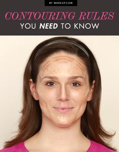 CONTOURING MAP!!!!!!!!!!!!!!!!!!!!!!!!! AWESOME! Contouring Rules You Need to Know