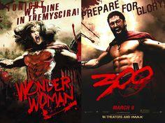 DC Comics movie posters