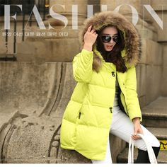 Женская зимняя куртка пуховик женский S 4XL верхняя одежда настоящее меховой воротник свободного покроя твердые элегантный хлопка ватник женщин MC1036 купить на AliExpress
