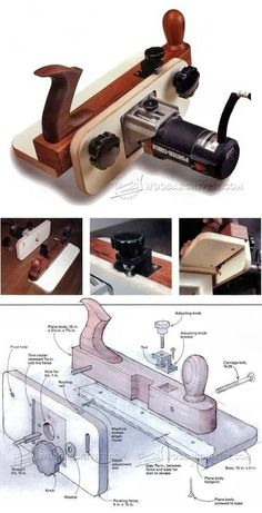 DIY Edge Banding Trimmer - Edging Tips, Jigs and Techniques - Woodwork, Woodworking, Woodworking Plans, Woodworking Projects Woodworking Ideas Table, Awesome Woodworking Ideas, Woodworking Organization, Woodworking Inspiration, Woodworking Joints, Woodworking Patterns, Woodworking Workbench, Woodworking Workshop, Woodworking Techniques