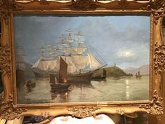 Watercolour Painting, Oil Paintings, 18th Century, Oil On Canvas, The Originals, Antiques, Artist, Antiquities, Antique