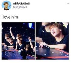 He knows how to make army's hearts flutter