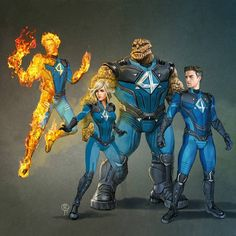 Awesome Fantastic Four Concept Fan-art Hq Marvel, Marvel Comics Art, Marvel Comic Books, Marvel Heroes, Comic Books Art, Comic Art, Captain Marvel, Marvel Comic Universe, Comics Universe