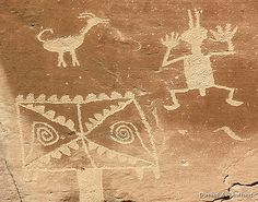 Chaco Canyon Petroglyphs by Critter Seeker, via Flickr