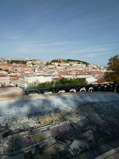 """Miradouro de Sao Pedro de Alcantara"", Bairro Alto Lispoa Portugal (Luglio)"