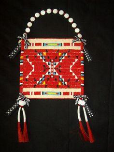 """Bag for the Beloved Child"", Lauren Good Day Woman Giago (Arikara, Hidatsa, Blackfeet and Plains Cree)"