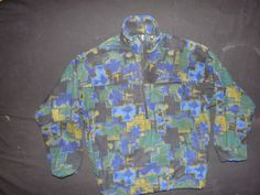Vintage 90s Nike ACG Fleece Size Medium  Tsnap All Condition Gear Jacket Retro #Nike #Pullover