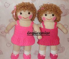 Crochet twins