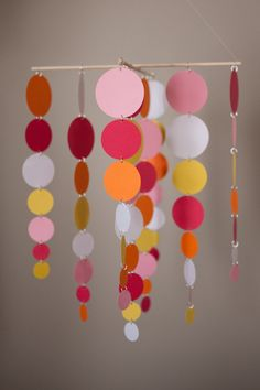 The Sherbert Mobile  Chandelier by LilSproutCreations on Etsy, $35.00