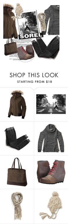 """Tame Winter with SOREL: Contest Entry"" by clotheshawg ❤ liked on Polyvore featuring SOREL, Cotton Citizen, Hollister Co., Capelli New York, maurices and sorelstyle"