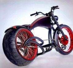 Red-N-Black Kustom Bike