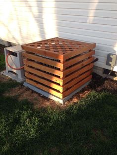Awesome DIY Outdoor Eyesore Hiding Ideas To Beautify Your Garden A Trellis Top Adds Further Disguise