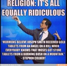 Religion is ridiculous but personal relationship with God is no ritual but agape love