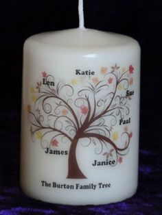Personalised Family Tree Candle , http://www.amazon.co.uk/dp/6041472840/ref=cm_sw_r_pi_dp_CVnIsb07K5KBM