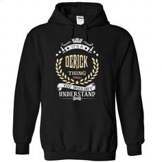 DERICK-the-awesome - #baja hoodie #sweater. ORDER NOW => https://www.sunfrog.com/LifeStyle/DERICK-the-awesome-Black-74437979-Hoodie.html?68278