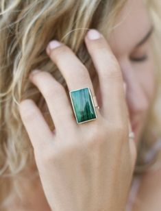 💍 Stone silver jewelry for woman by CurryMoon Purple Stone Rings, Silver Rings, Unique Rings, Beautiful Rings, Malachite Jewelry, Smoky Quartz Ring, How To Clean Metal, Black Onyx Ring, Mixed Metal Jewelry
