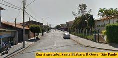 Rua Araçatuba, Santa Bárbara D Oeste - São Paulo