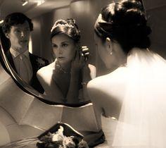 Molly's wedding- But who is the actual groom? Sherlock Fandom, Sherlock Holmes, Sherlolly, I Like Him, John Watson, Baker Street, Benedict Cumberbatch, Pretty Little Liars, Actresses