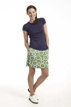Golftini Bubbly Skort Named after one of our favorite drinks.... This skort is sure to make you giggle and smile. Pop open the Bubbly and get golfing! http://www.golftiniwear.com/bubbly-skort/
