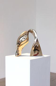 Stephanie Blake, Rewired, Bronze Edition 2/8, 13 x 12 x 5 inches