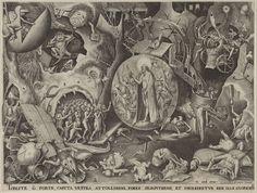 Pieter Breugel the Elder, Christ in Hell.      i like it's delicate and good moral.