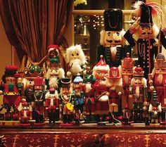 Robin McGraw's nutcracker collection
