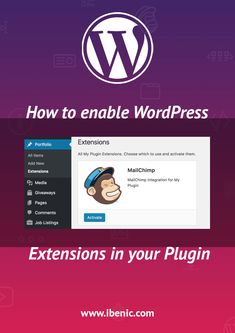 How to enable WordPress Extensions in your Plugin - Igor Benić Learn Wordpress, Wordpress Plugins, Ecommerce, Enabling, Web Development, Extensions, About Me Blog, Posts, Writing