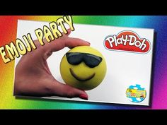 EMOTICONS PLAY DOH Emoji Party - Disney Angry birds Princesas Huggle monster Playmobil Dinosaurios - YouTube