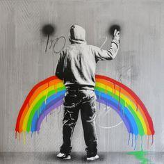 Sad Rainbow by Martin Whatson (2015)