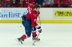 Alex Ovechkin - Capitals... i'm just sayin, look at the BEND in that slapper!