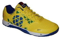 Reebok Crossfit Nano 4.0 Men s Shoe BRAZIL Yellow Royal NEW M48434 Sizes 11  11.5 3bf7a7035