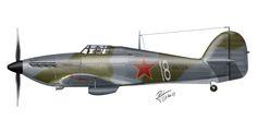 Hawker Hurricane MK.IIB – Soviet Air Force – Karelian Front, 1942